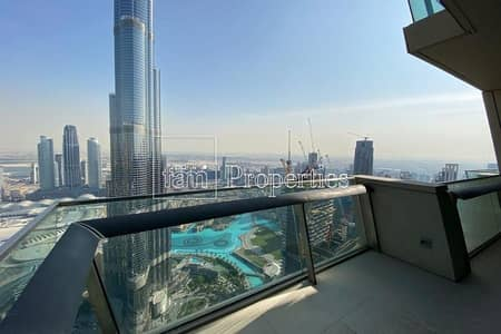 4 Bedroom Penthouse for Rent in Downtown Dubai, Dubai - Breath taking panoramic view of Khalifa & Fountain