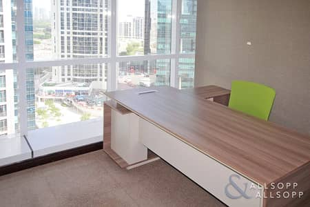 Office for Rent in Jumeirah Lake Towers (JLT), Dubai - Partitioned | Furnished | Available Now