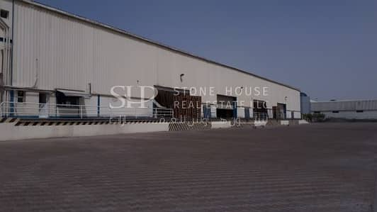 Jafza N Logistics Warehouse Open Yard (Negotiable)