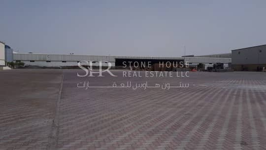9 Jafza N Logistics Warehouse Open Yard (Negotiable)