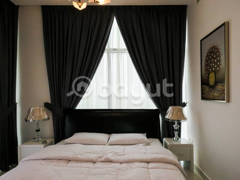 FULLY FURNISHED 2B/R+HALL CHILLER FREE