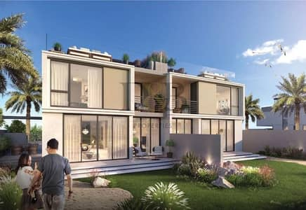 3 Bedroom Villa for Sale in Dubai Hills Estate, Dubai - Luxurious Villa Facing Golf Course Driving Range