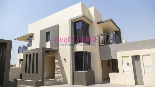 4 Bedroom Villa for Sale in Dubai Hills Estate, Dubai - 4 BEDROOMS + MAID VILLA | READY TO MOVE | BRAND NEW | PARK VIEW |