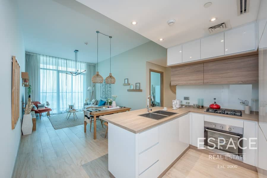 2 Brand New Full Marina View High Floor Fitted Kitchen 2bd