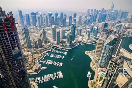 شقة 3 غرف نوم للبيع في دبي مارينا، دبي - Fendi Design | Three Bed | Marina View