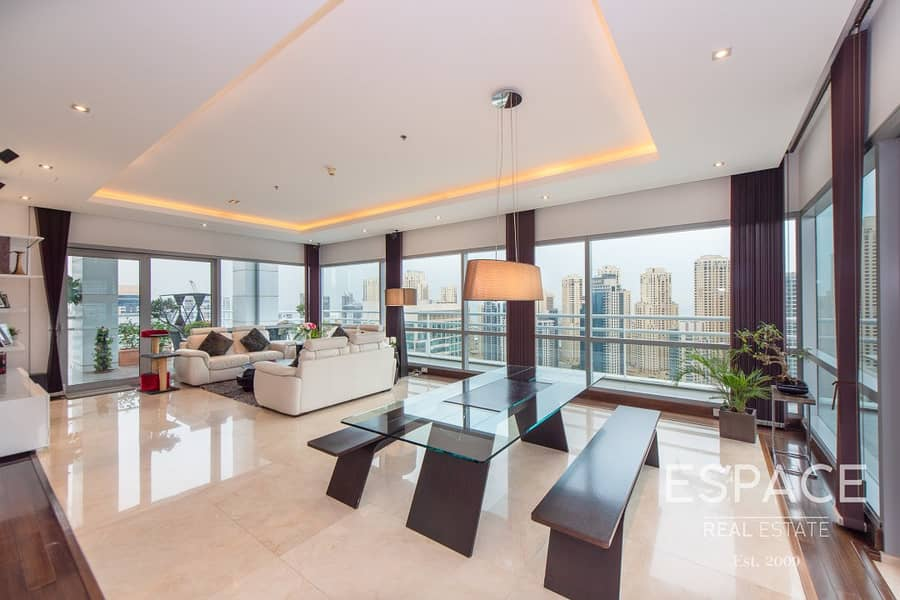 2 Exclusive | Full Floor Penthouse | Panoramic Marina View