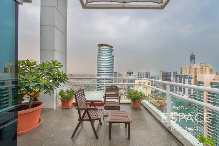 13 Exclusive | Full Floor Penthouse | Panoramic Marina View