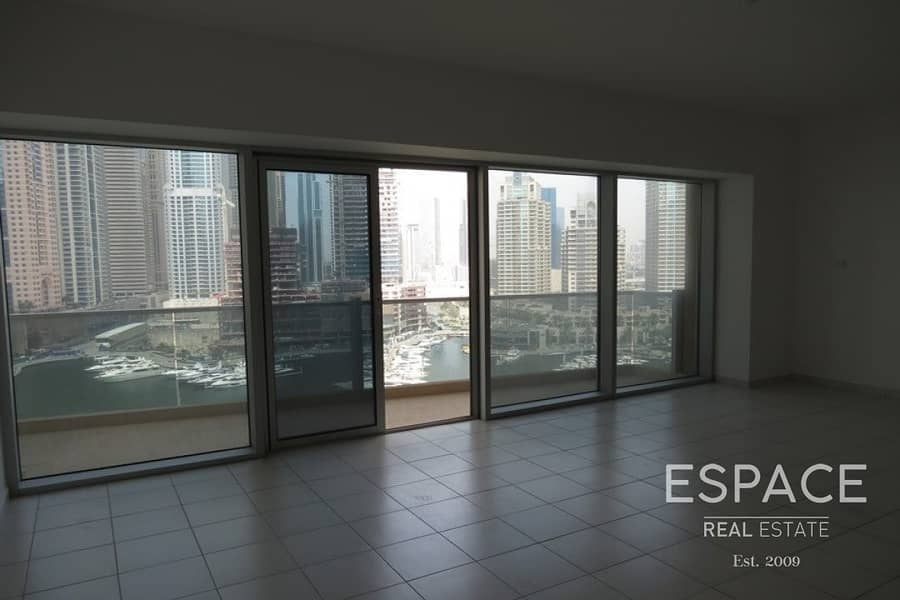 11 Three Bedroom + Maids | Full Marina View