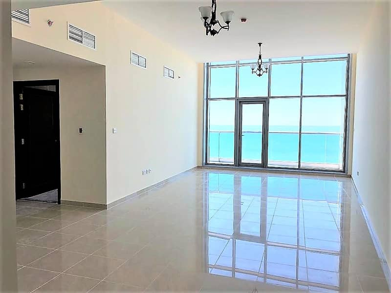 Amzing offer!! Just pay 68,141.70  and move-in 20 a beautiful 2 Bedroom Hall with mesmerizing/relaxing view of the beach/sea in Ajman Corniche Residence.