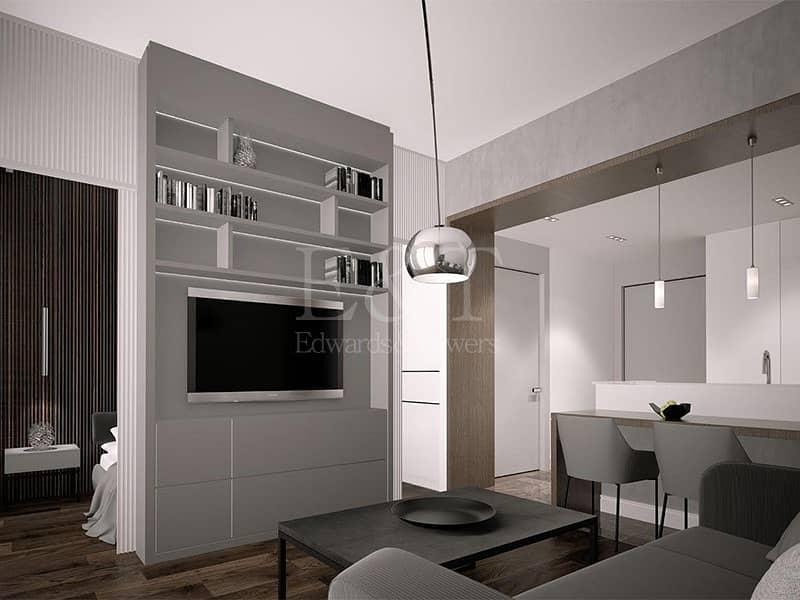 2 Corner Brand New Apartment  with Timeless Elegance