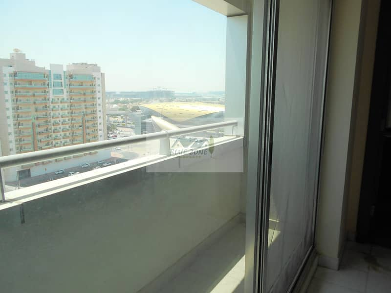 1BHK WITH MAID ROOM IN FRONT OF AL NAHDA METRO KITCHEN EQUIPMENTS PARKING 50K