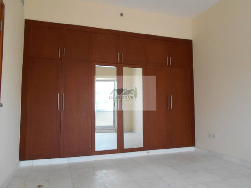 2 1BHK WITH MAID ROOM IN FRONT OF AL NAHDA METRO KITCHEN EQUIPMENTS PARKING 50K