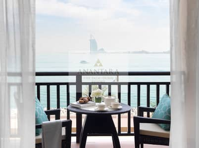 1 Bedroom Hotel Apartment for Rent in Palm Jumeirah, Dubai - Book before 31 December and get 1 month free.  All bills included
