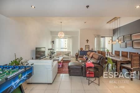 3 Bedroom Flat for Rent in Jumeirah Beach Residence (JBR), Dubai - Tastefully Frunished 3 Beds Plus Maid JBR