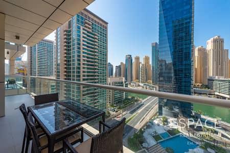 شقة 2 غرفة نوم للبيع في دبي مارينا، دبي - Modern Finish | 2 Bed Marina View