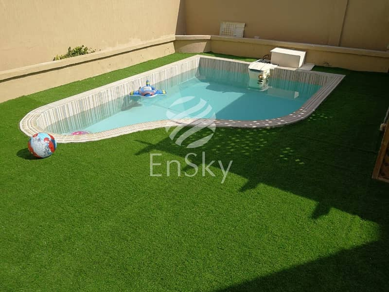 Upgraded 6 Villa Compound with swimming pool