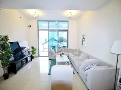 """شقة 2 غرفة نوم للايجار في دبي مارينا، دبي - 2BR Furnished New Furniture 50"""" LCD Full Marina View"""