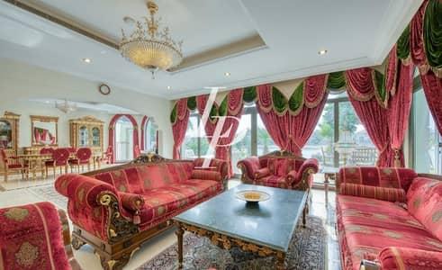 5 Bedroom Villa for Sale in Palm Jumeirah, Dubai - Luxury Furniture by Francesco Molon|Sea View