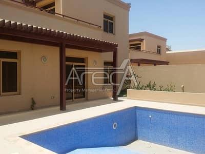 فیلا 5 غرف نوم للايجار في حدائق الجولف في الراحة، أبوظبي - Amazing Family Villa with Own Pool