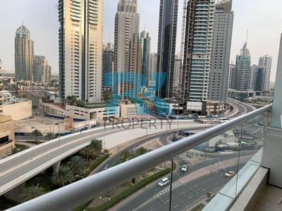 استوديو  للبيع في دبي مارينا، دبي - ROAD VIEW STUDIO WITH BALCONY   DUBAI MARINA