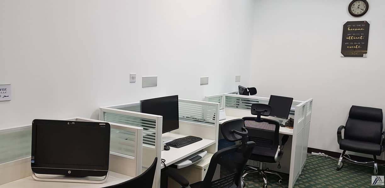 2 FULLY SERVICED VIRTUAL OFFICE EJARI FOR NEW LICENSE |RENEWAL |UNLIMITED VISAS|LABOR INSPECTIONS|MEETING ROOM FACILITY