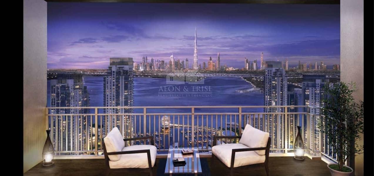 17 Spacious 4 Bedroom | Beautiful View of Dubai Creek