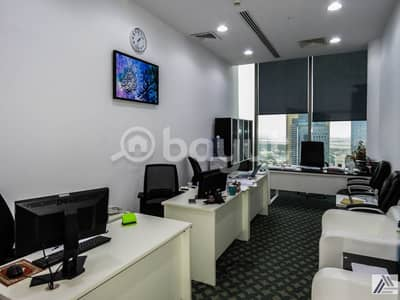 Office for Rent in Sheikh Zayed Road, Dubai - BRAND NEW CUSTOMIZED LUXURIOUS PRIVATE OFFICES AT SHEIKH ZAYED ROAD|PRESTEGIOUSE LOCATION|1 MNT WALK AWAY FROM METRO.