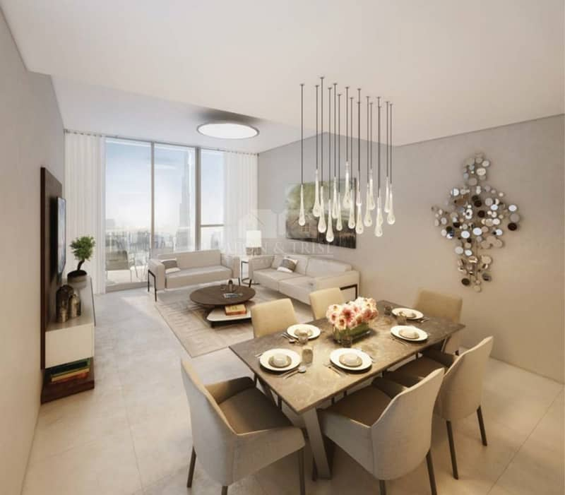 75% Post handover for 5 years | Free DLD | 2 Bed