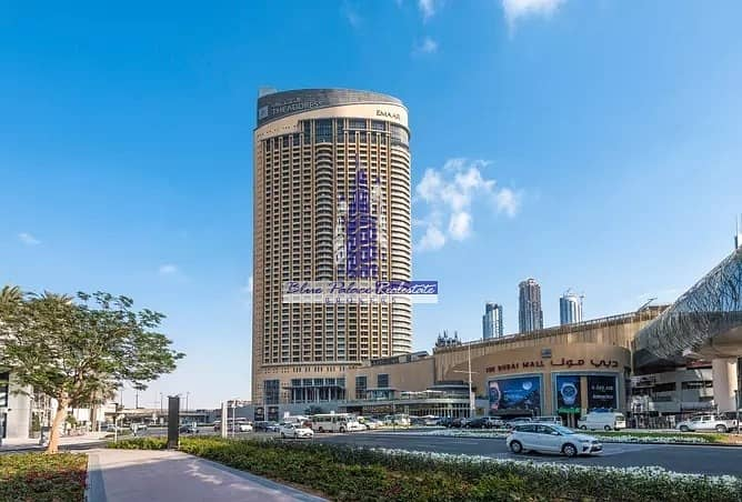 10 The Address Dubai Mall Studio  with SZR view @  Low Price