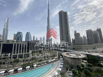 2 Bedroom Flat for Rent in Downtown Dubai, Dubai - Stunning 2 Bedroom | Full Burj Khalifa View
