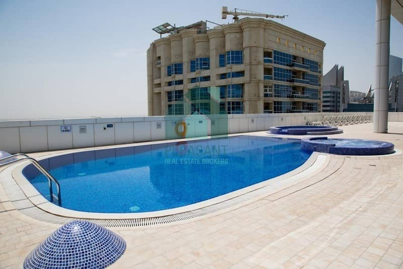 2 Fully Furnished | No Balcony | Mid Floor | Saba Tower 3