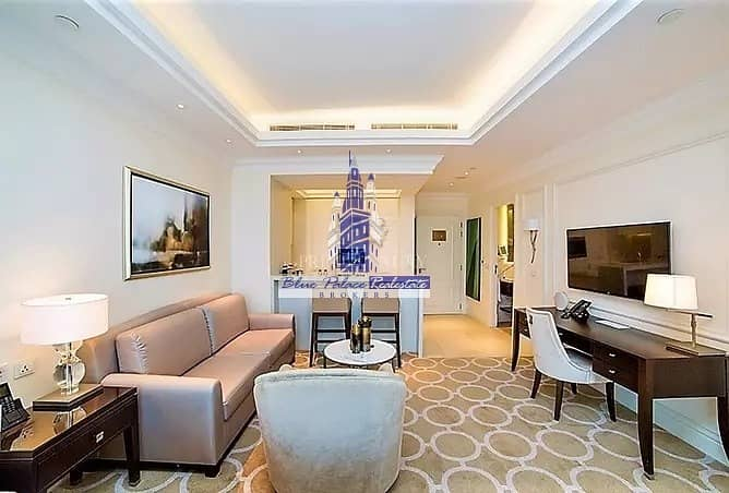 Low Price The Address Boulevard  1br with Sea View