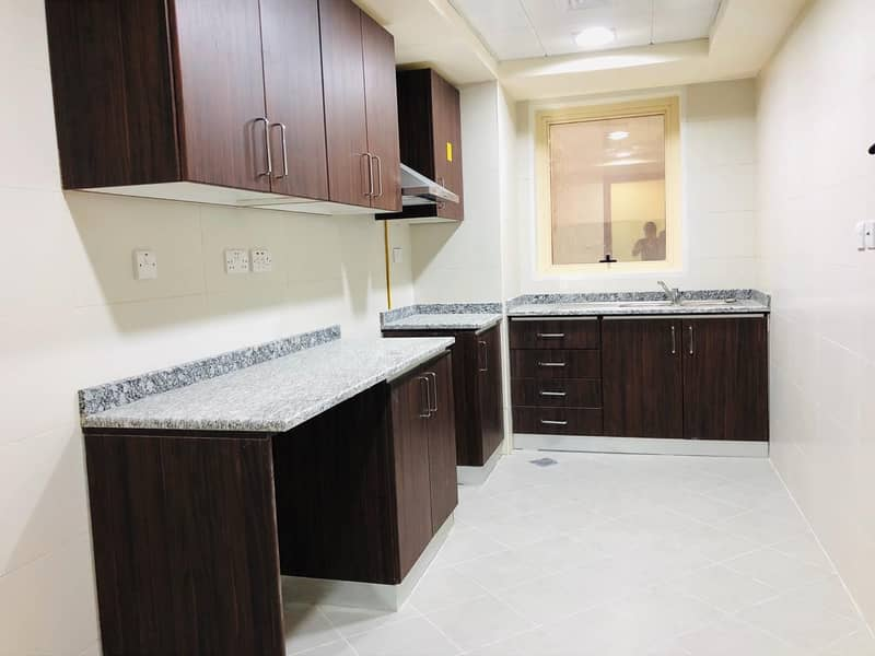 Tower Building Brand New 2 Master Bedrooms With Car Parking In Airport Road.