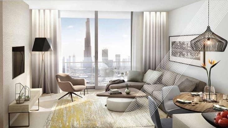 2 1 Bedroom with Dubai Marina View | Vida Residence