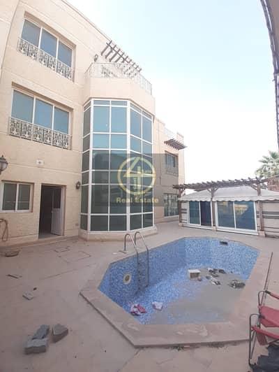 فیلا 5 غرف نوم للايجار في مدينة محمد بن زايد، أبوظبي - Private entrance villa Pool /Maid's and Driver's