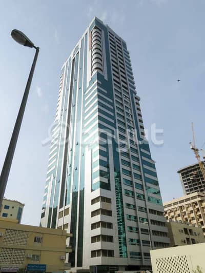 1 Bedroom Flat for Rent in Al Majaz, Sharjah - Cosy 1BR Flat for Rent in Al Ferasa Tower