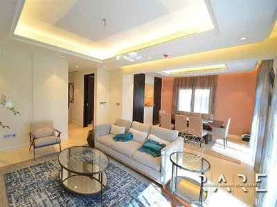 4 Bedroom Townhouse for Sale in Jumeirah Golf Estate, Dubai - 4 Bed plus Maids room | Ready to Move in property
