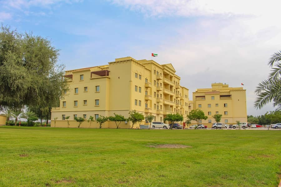 2 2 Bedroom Apartment. 1100 Sqft with mountain view  for rent in marvellous Yasmin Village community