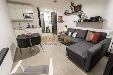 Studio for Sale in Dubai Silicon Oasis, Dubai - Spacious Fully Furnished Studio  with Balcony -Clean and well Maintained