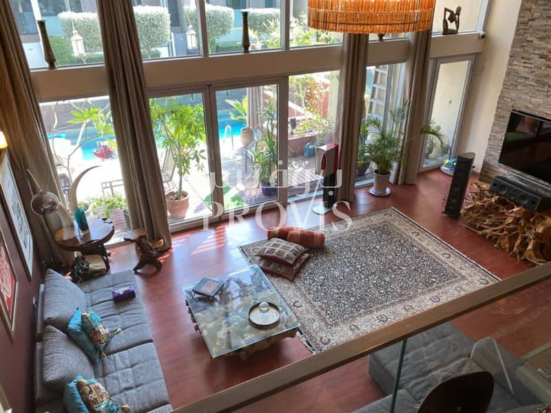 To be rented unfurnished | Private Pool and Garden