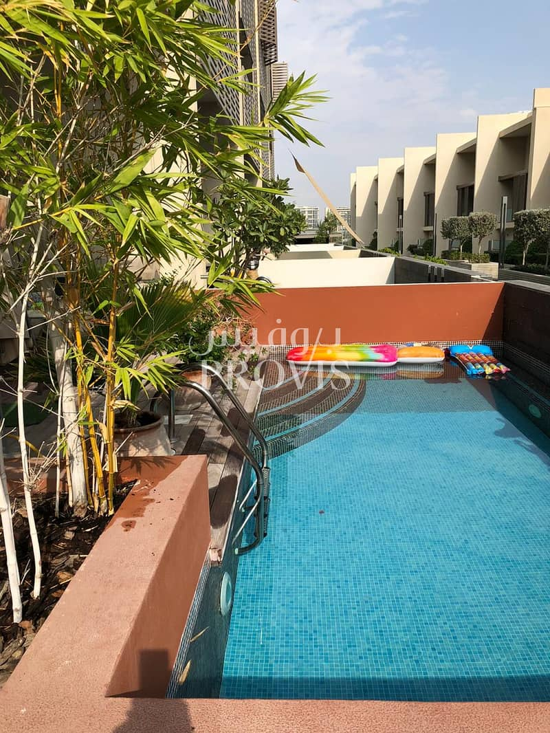 14 To be rented unfurnished | Private Pool and Garden