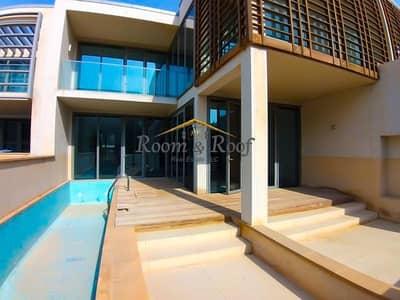 فیلا 5 غرف نوم للايجار في شاطئ الراحة، أبوظبي - 5 Bed Villa for 6 Payments