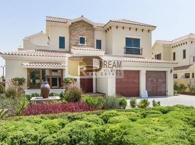 5 Bedroom Villa for Sale in Jumeirah Golf Estate, Dubai - Own palace Jumeirah in 24%and installments over 4years