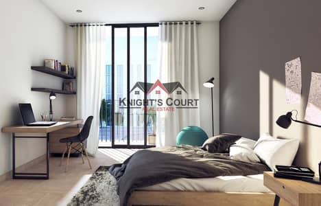 Studio for Sale in Aljada, Sharjah - Best investment project in sharjah 10% ROI Guaranteed