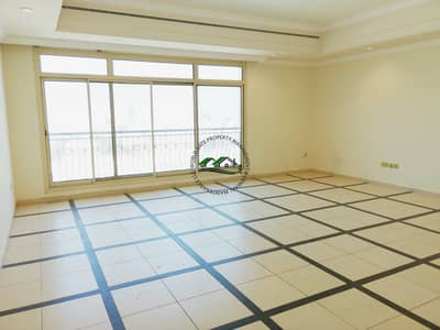 4 Bedroom Flat for Rent in Al Mushrif, Abu Dhabi - Superb and spacious family flat w/ free amenities & parking