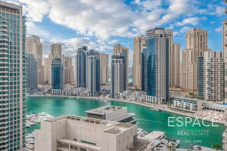 3 Bedroom Apartment for Sale in Dubai Marina, Dubai - 3 Bed | Maids | Partial Marina | White Goods