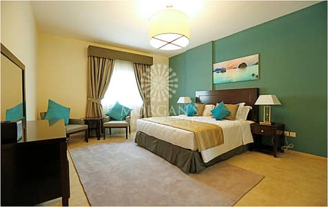 2 Bedroom Flat for Rent in Jumeirah Village Triangle (JVT), Dubai - Fully-Furnished 2 BR Imperial Residences