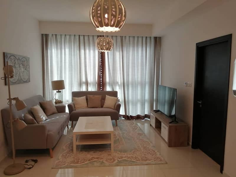 Hot Offer 1 Bedroom Fully Furnished Apartment with All Amenities in Horizon Tower 70k. . . . !