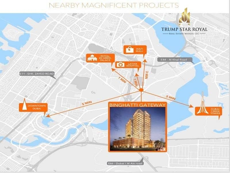 10 AED 4700 per month   5 Mins from Downtown & Wafi Mall