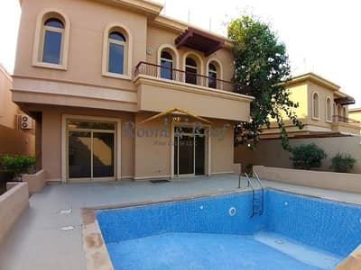 4 Bedroom Villa for Rent in Al Raha Golf Gardens, Abu Dhabi - Splendid Villa with Private Pool & Entrance!